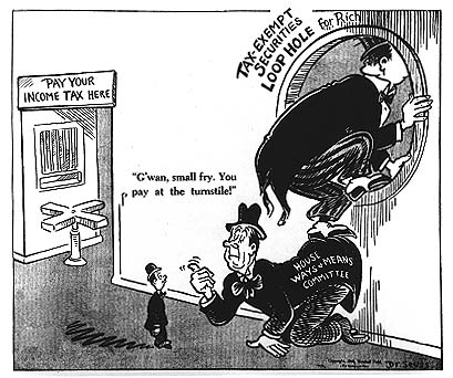 Dr. Suess on the political economy of taxation...